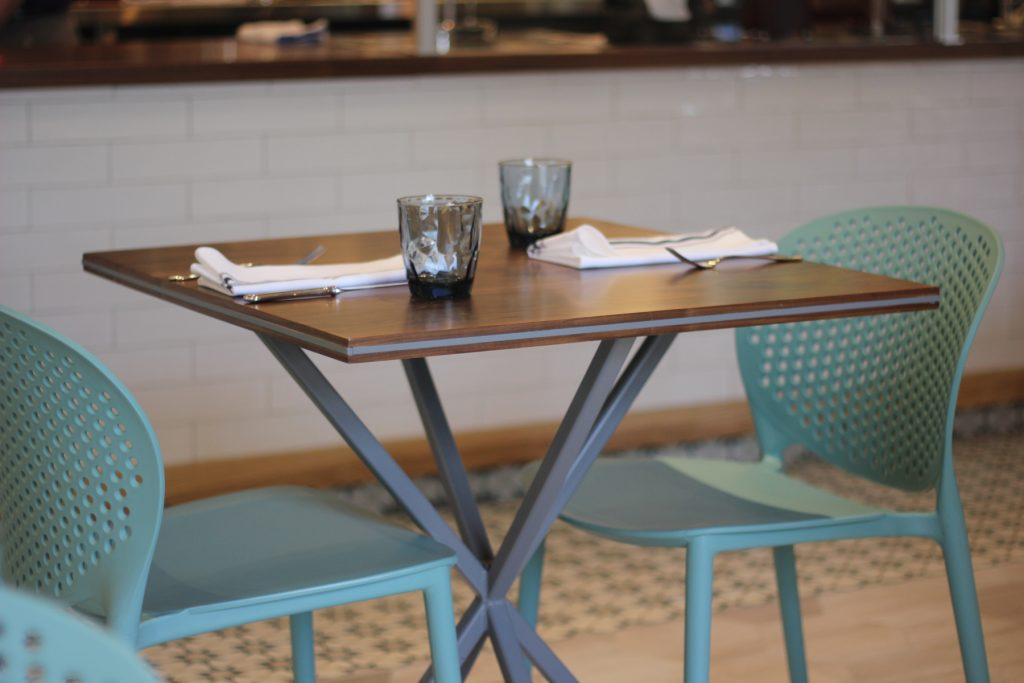 Saddle River Cafe Interior Table